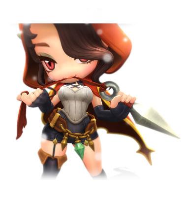 《冒险岛2》超萌女刺客贝拉原画欣赏 - 素酷游戏实训
